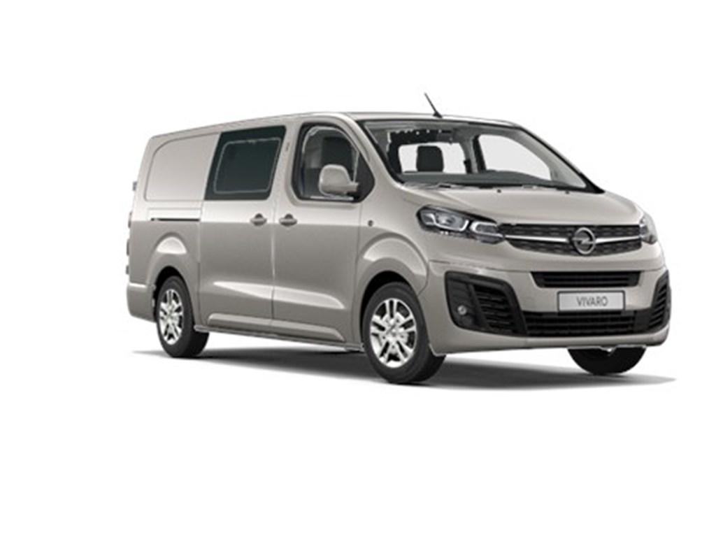 Tweedehands te koop: Opel Vivaro Grijs - Dubbele Cabine Edition L3H1 Verhoogd Laadvermogen 20 Turbo D 120pk - Navi - 5pl - Nieuw