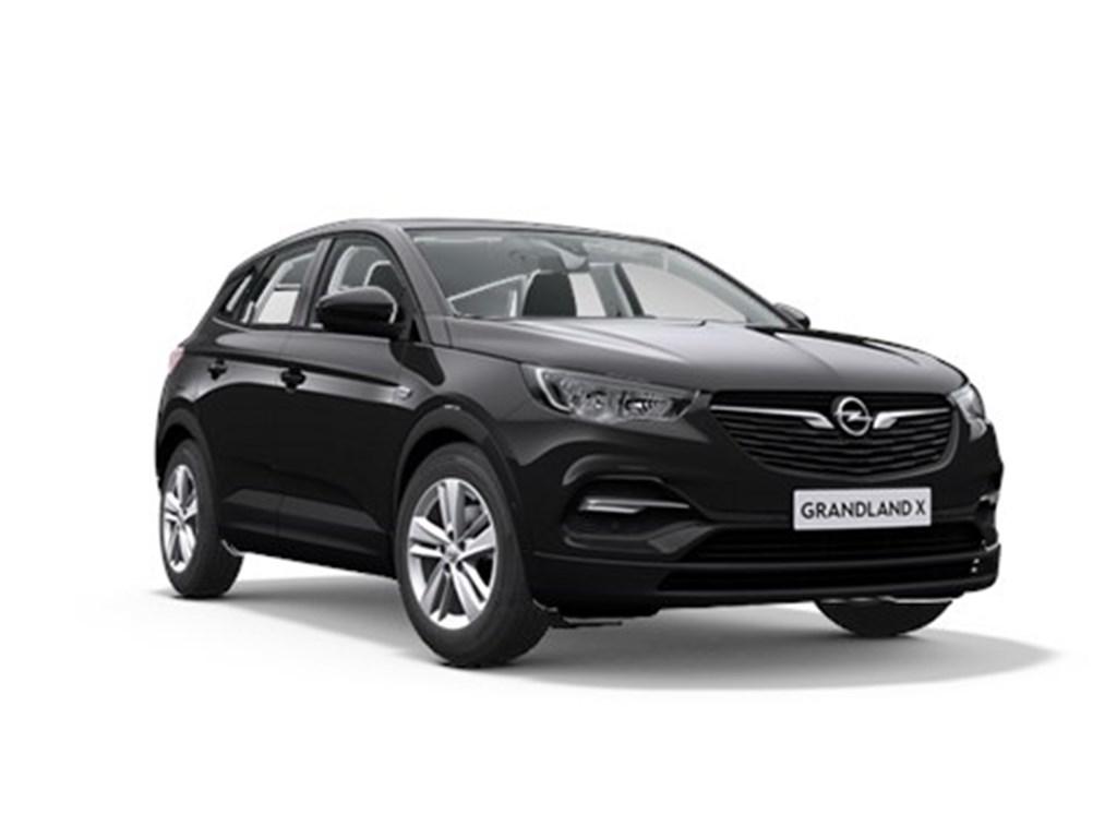 Tweedehands te koop: Opel Grandland X Zwart - Edition 12 Turbo benz - Manueel 6 StartStop - 130pk 96kw - Nieuw