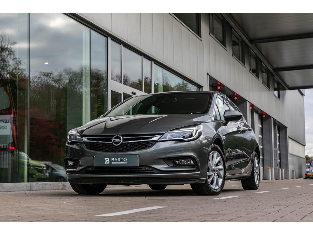 Opel-Astra-Grijs-14TurboDynamicCameraDodehoeksensParkeersensOfflane