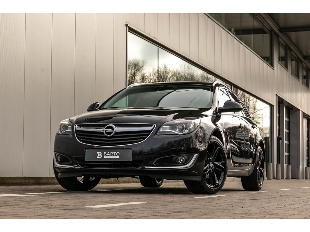 Tweedehands te koop: Opel Insignia Zwart - 16dieselAutomaatCosmoCameraTrekhaakNaviLeder
