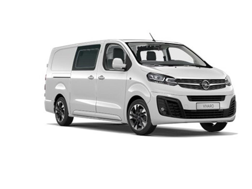 Tweedehands te koop: Opel Vivaro Wit - Dubbele Cabine Innovation L3H1 Verhoogd Laadvermogen 20 Turbo D 150pk - Navi - 5pl - Nieuw
