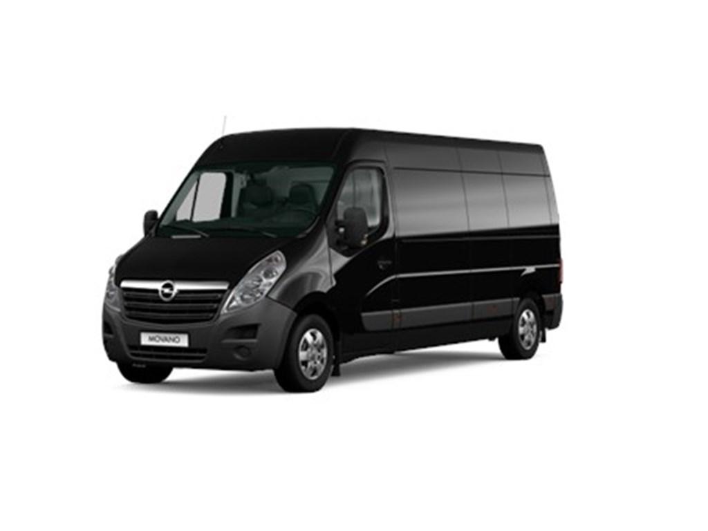 Tweedehands te koop: Opel Movano Zwart - Gesloten bestelwagen L3H2 23 Turbo D 180pk 132kw FWD 35MTM - Nieuw