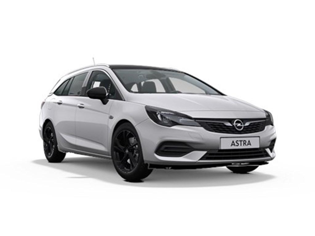 Tweedehands te koop: Opel Astra Zilver - Sports Tourer 14 Turbo Benz 145pk SS CVT 7 Automaat - Elegance - Nieuw