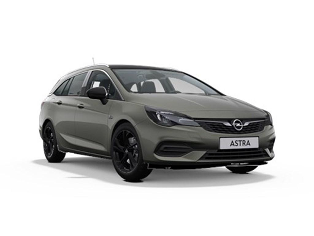 Opel-Astra-Grijs-Sports-Tourer-14-Turbo-Benz-145pk-SS-CVT-7-Automaat-Elegance-Nieuw
