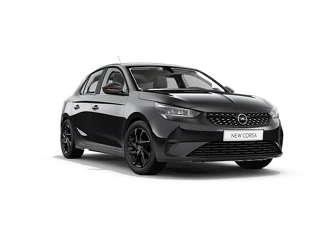 Tweedehands te koop: Opel Corsa Zwart - 5-deurs Edition 12 Turbo Automaat 8 StartStop 100pk - Nieuw