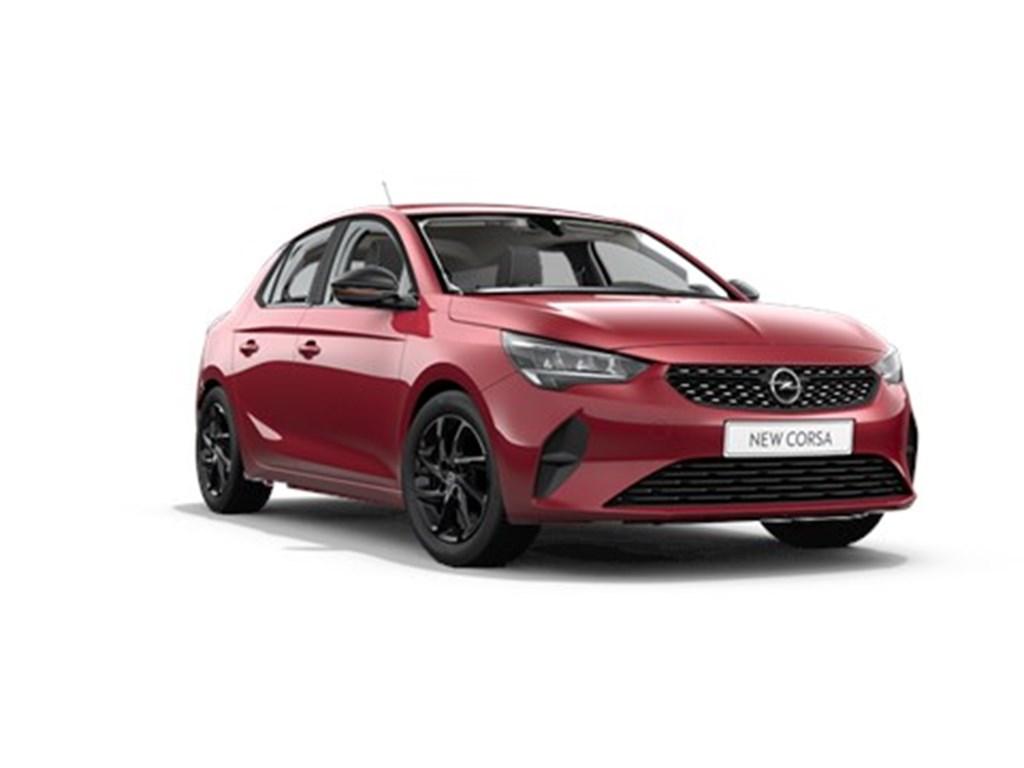 Tweedehands te koop: Opel Corsa Rood - 5-deurs Edition 12 Turbo Automaat 8 StartStop 100pk - Nieuw