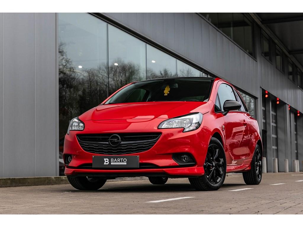 Tweedehands te koop: Opel Corsa Rood - 3D 14B Black Edition OPC Pack Navi Sensoren