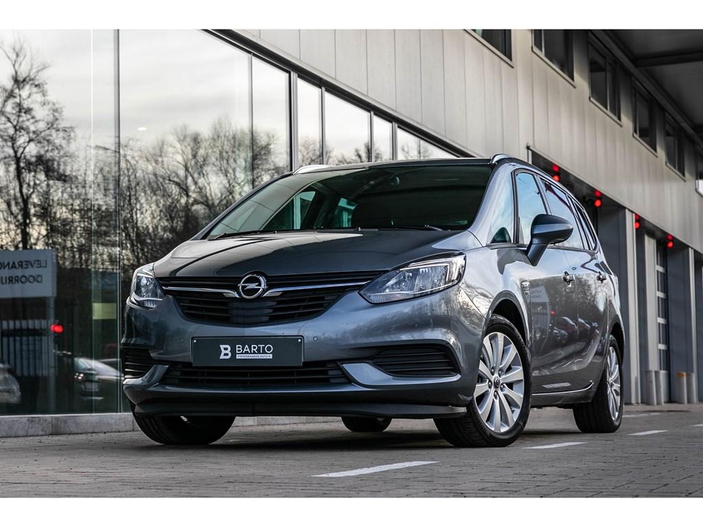 Tweedehands te koop: Opel Zafira Grijs - 16T benz 7 zit Navi 120Y editie