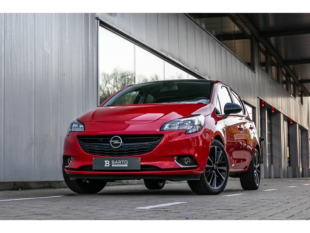 Tweedehands te koop: Opel Corsa Rood - 14 Benz Black Ed Camera Parkeersens Alu velgen