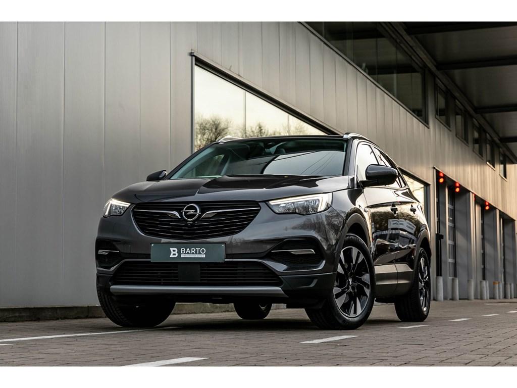 Opel-Grandland-X-Grijs-16T-180PK-Innov-Leder-Afn-Trehaak-