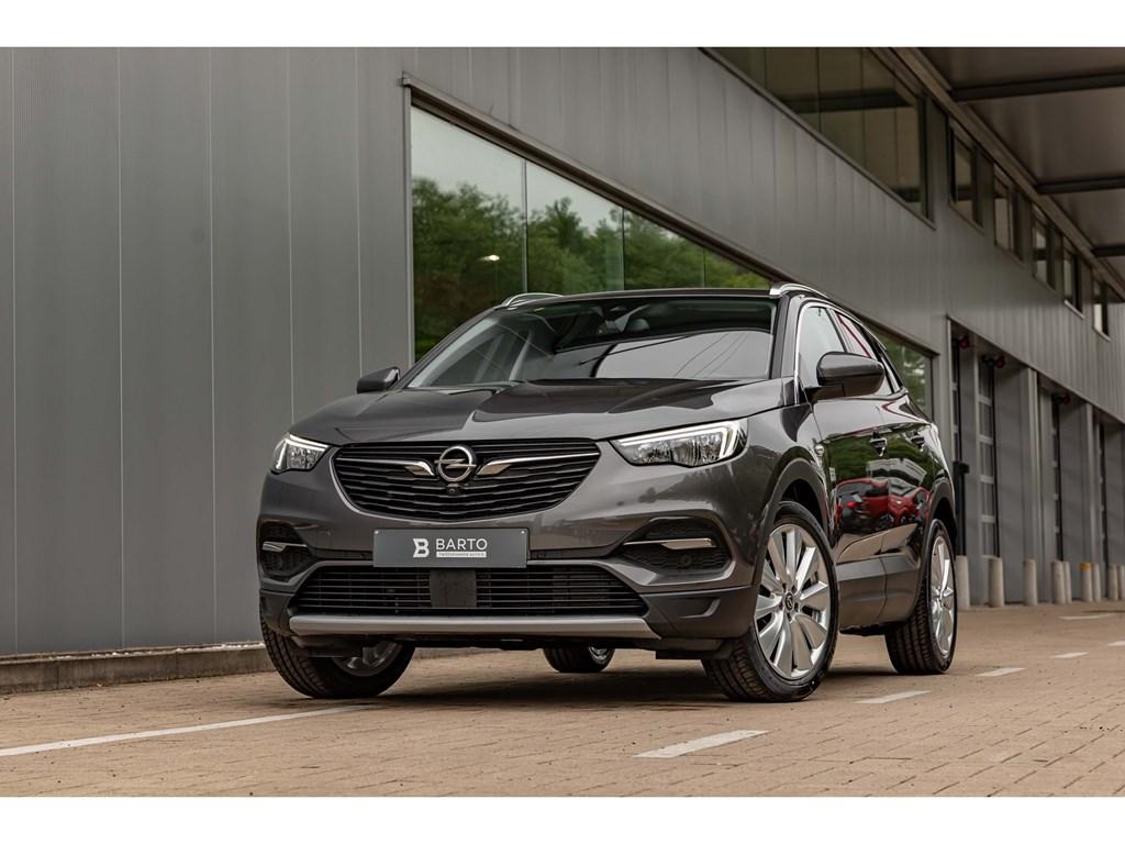 Tweedehands te koop: Opel Grandland X Grijs - 16T 180pkInnovVolledig Leder19Alu velg360CameraAfn Trehaak