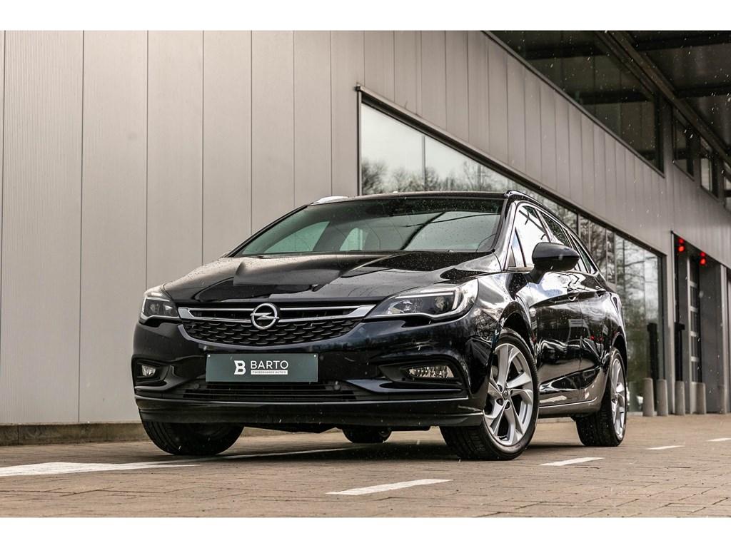 Tweedehands te koop: Opel Astra Blauw - Break14T 125pkINNOVATNavialu velgen
