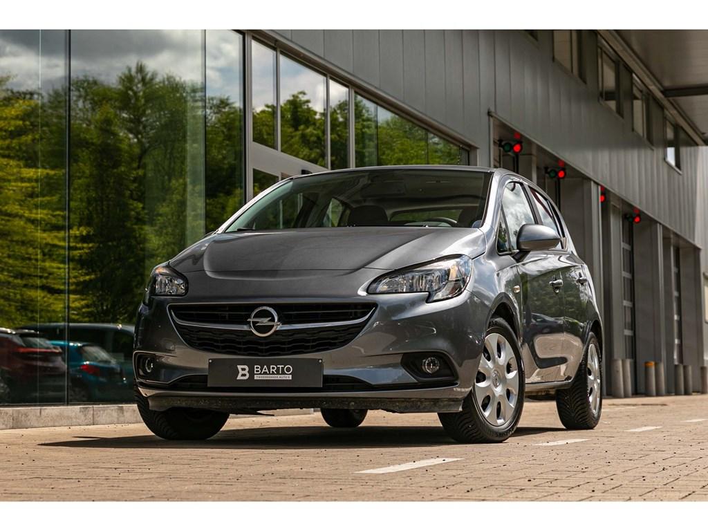 Tweedehands te koop: Opel Corsa Grijs - 12 BenzNavigatieAirco