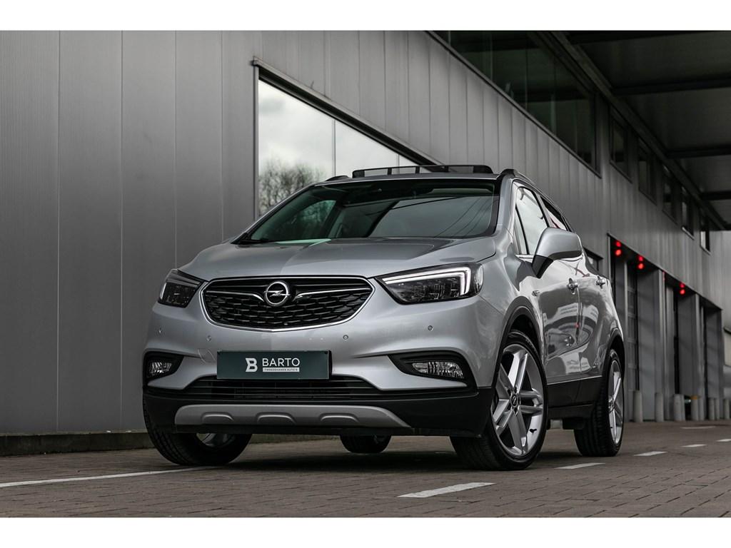 Tweedehands te koop: Opel Mokka Zilver - 14T Autom Pano dak Matrix 19