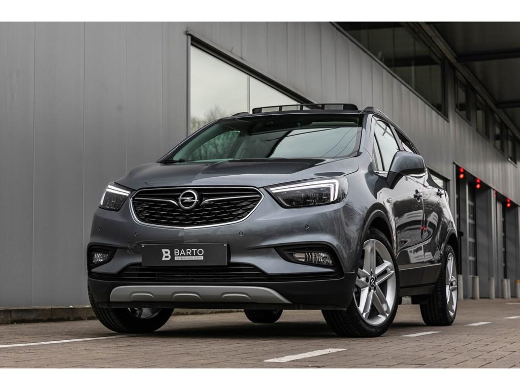 Tweedehands te koop: Opel Mokka X Grijs - 14T LederAutomPano dakMatrix19