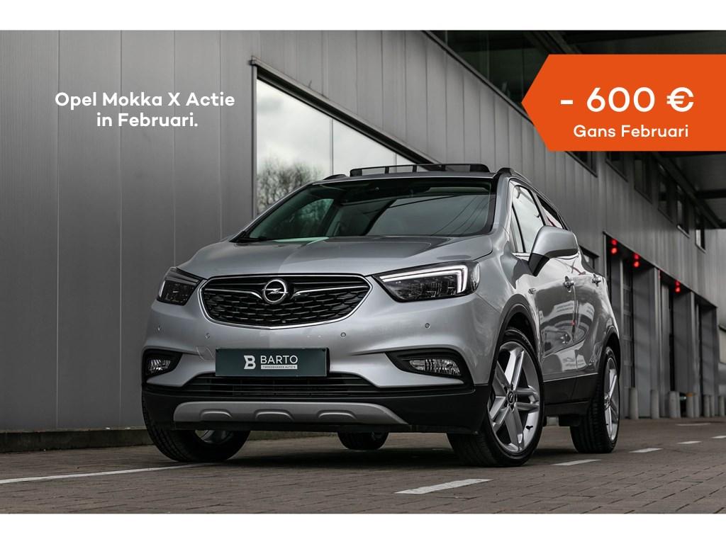 Tweedehands te koop: Opel Mokka X Zilver - 14T LederAutomPano dakMatrix19
