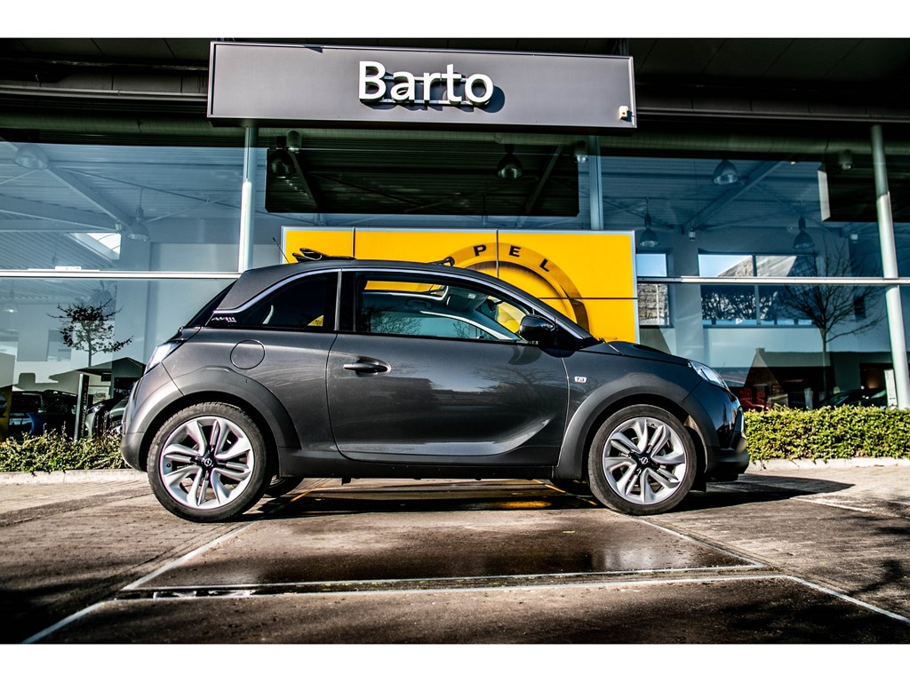 Tweedehands te koop: Opel ADAM Anthraciet - Rocks 10 Turbo 90pk Open Dak Intellilink
