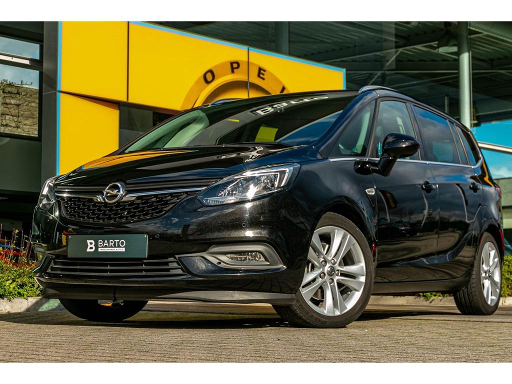 Tweedehands te koop: Opel Zafira Zwart - 16Turbo 170pkInnovation7 zitLederNaviAfn Trekhaak