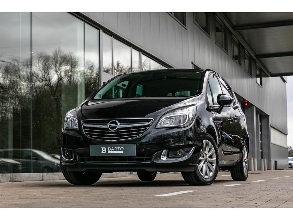 Tweedehands te koop: Opel Meriva Zwart - 14 TurboParkeersensCameraNaviAutoAiro