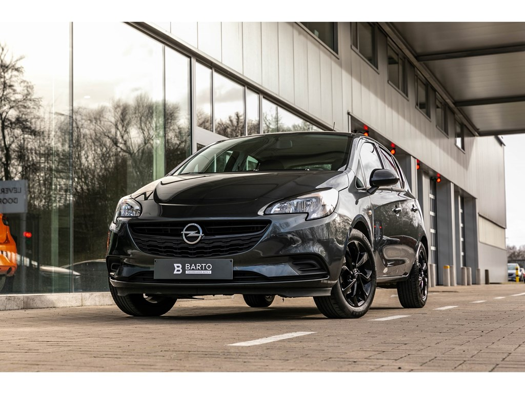 Tweedehands te koop: Opel Corsa Grijs - 14 benzBlack EditionNaviAirco