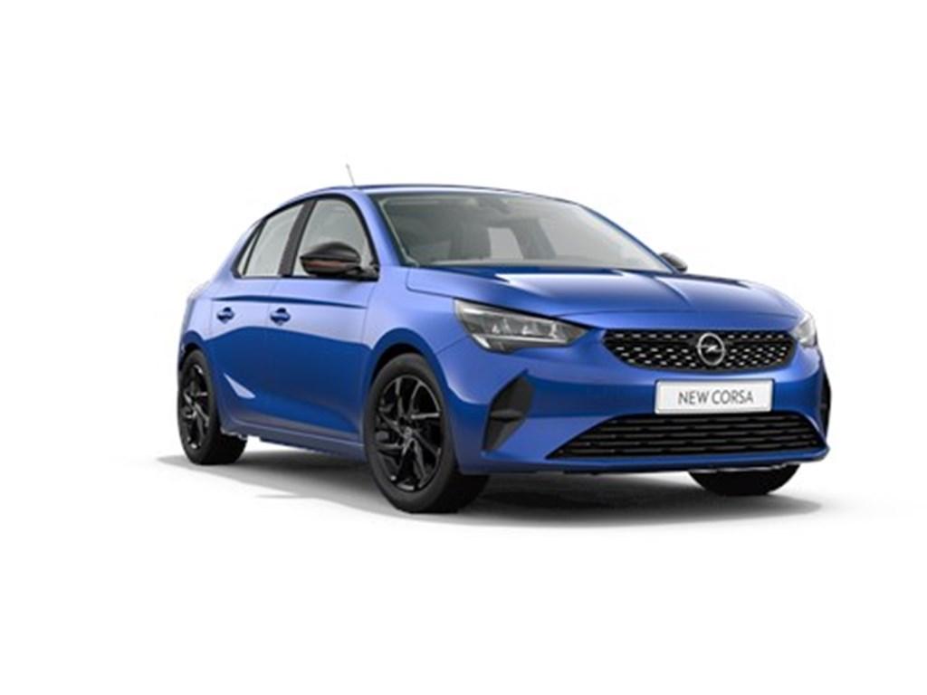 Tweedehands te koop: Opel Corsa Blauw - 5-deurs Edition 12 Turbo Automaat 8 StartStop 100pk - Nieuw
