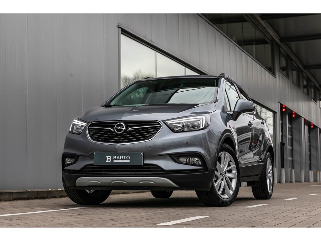 Opel-Mokka-X-Grijs-14TNaviCameraParkeersensAutoAirco