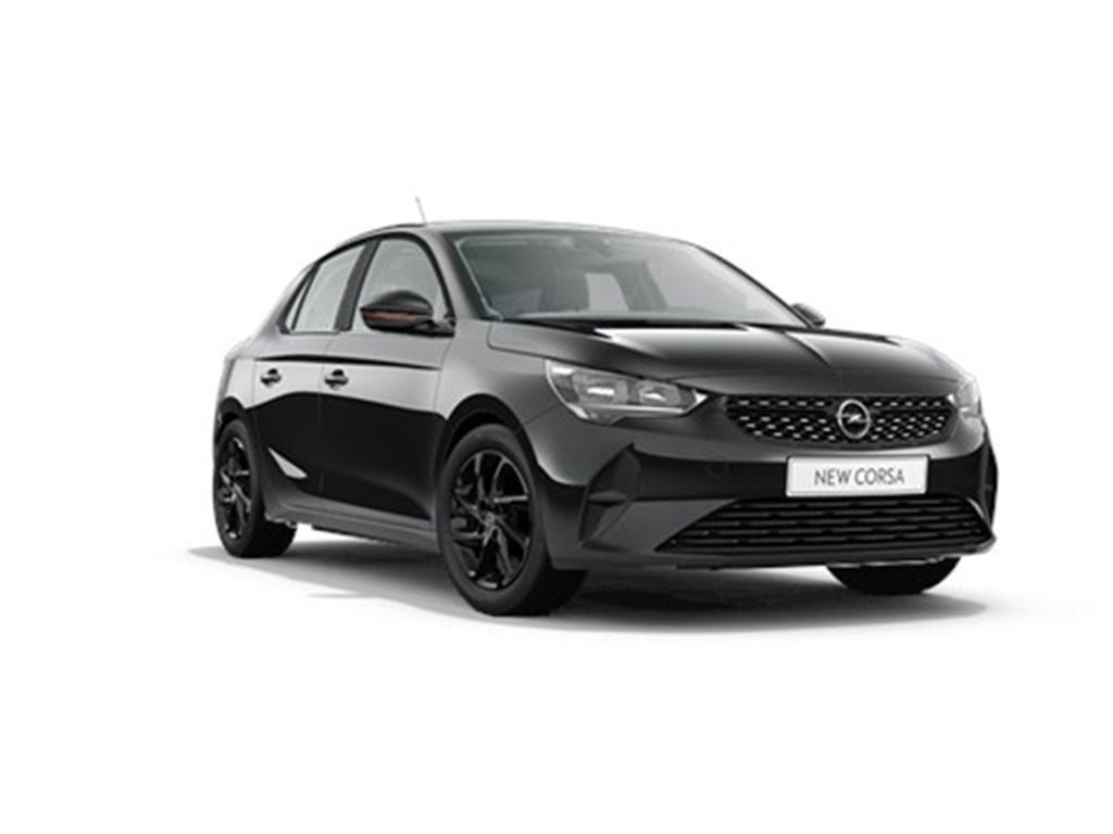 Tweedehands te koop: Opel Corsa Zwart - 5-deurs Edition 12 Turbo Manueel 6 StartStop 100pk - Nieuw