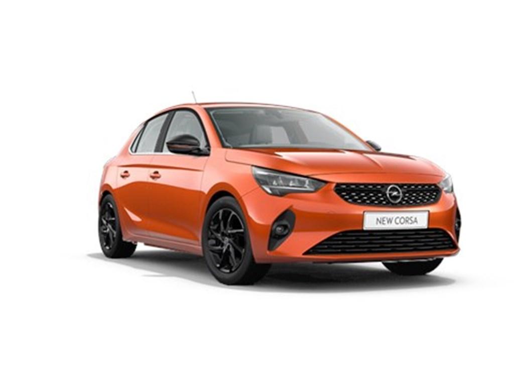 Tweedehands te koop: Opel Corsa Oranje - 5-deurs Elegance 12 Benz Turbo Manueel 6 StartStop - 100pk - Nieuw