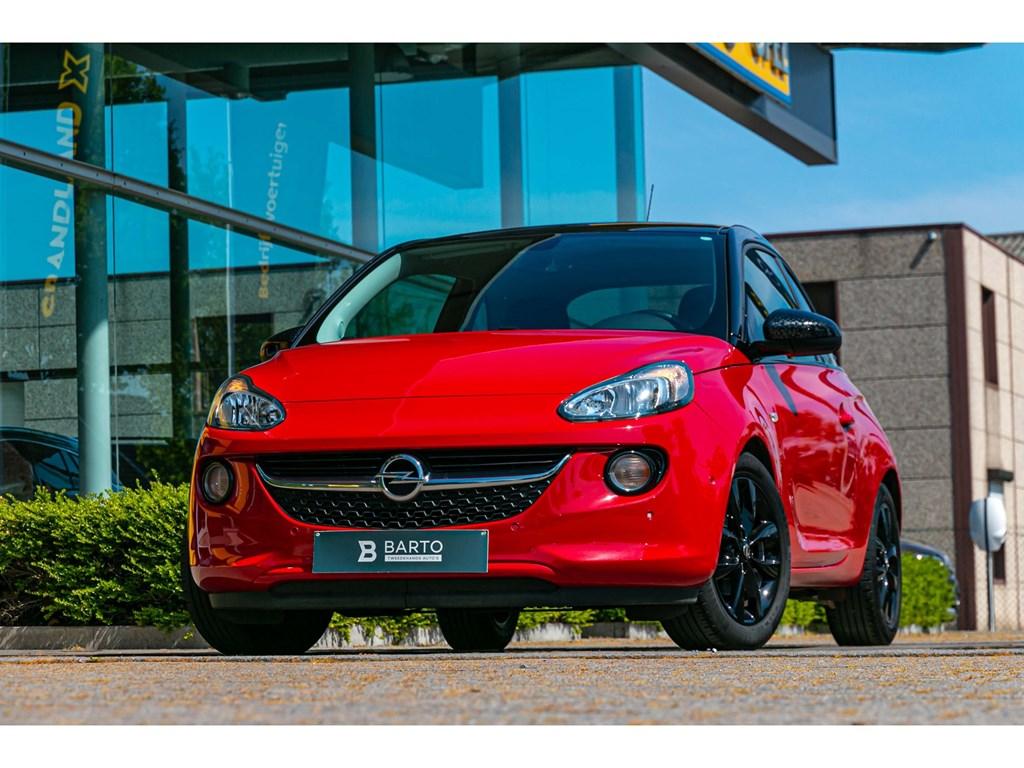 Tweedehands te koop: Opel ADAM Rood - 14 BenzDodehoeksensIntellilinkVerwarmde ZetelsStuurParkeersens