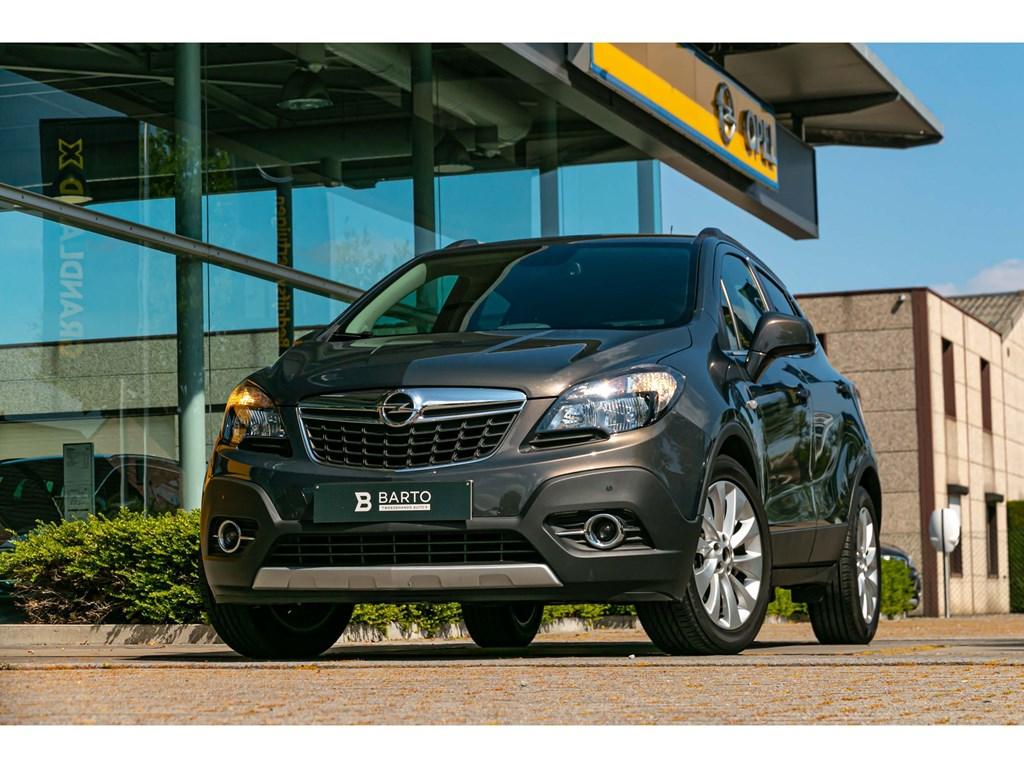 Tweedehands te koop: Opel Mokka Grijs - 14 TurboCosmoLederNaviTrekhaakParkeersens