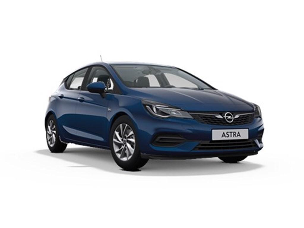 Opel-Astra-Blauw-5-deurs-12-Turbo-110pk-SS-Manueel-6-Edition-Nieuw