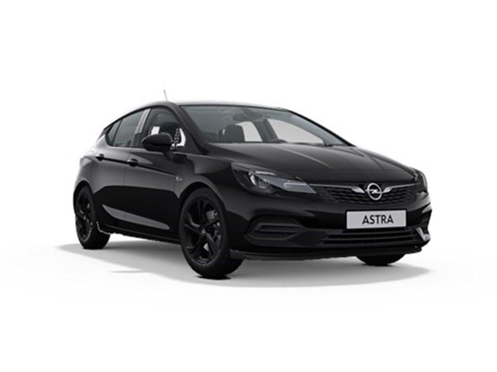 Tweedehands te koop: Opel Astra Zwart - 5-Deurs 12 Turbo Benz 110pk SS Manueel 6 - GS Line - Nieuw