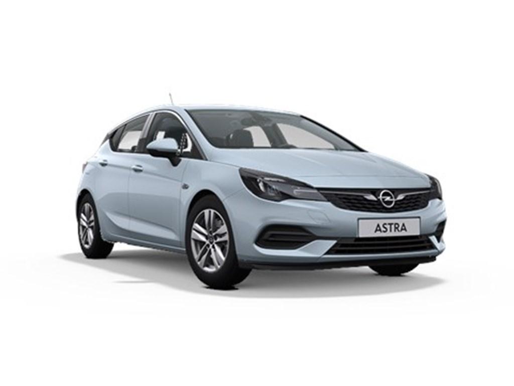 Tweedehands te koop: Opel Astra Zilver - 5-Deurs 12 Turbo Benz 110pk SS Manueel 6 - Elegance - Nieuw