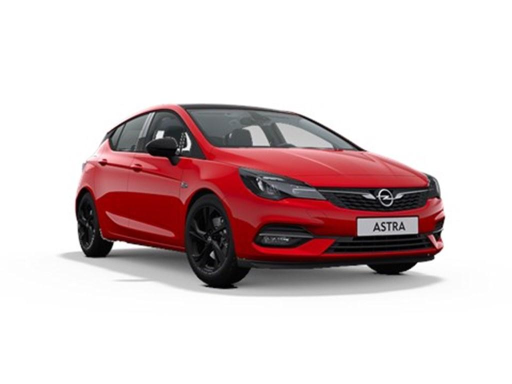 Opel-Astra-Rood-5-Deurs-12-Turbo-Benz-130pk-SS-Manueel-6-Ultimate-Nieuw