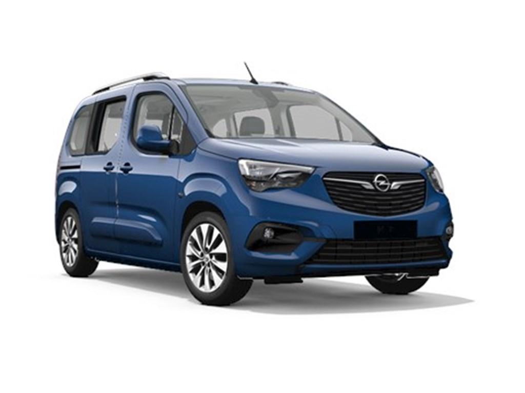 Tweedehands te koop: Opel Combo Blauw - Life Edition 12 Turbo benz Automaat 8 StartStop - 130pk 96kw - Nieuw