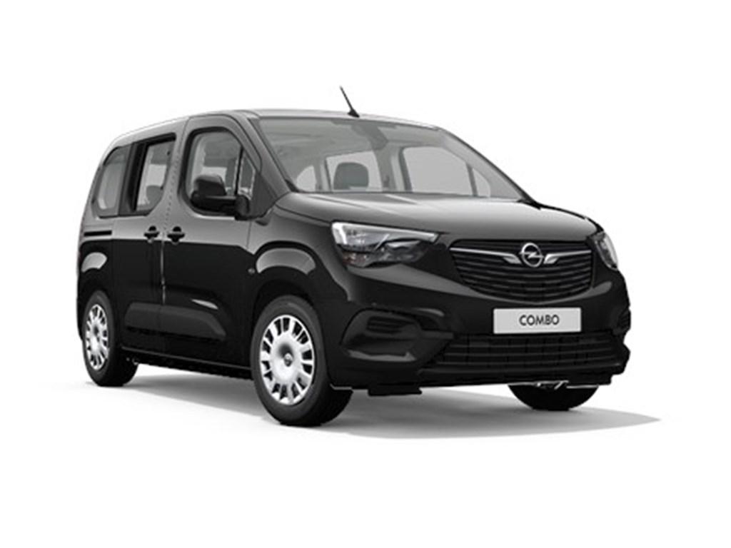 Opel-Combo-Zwart-Life-Edition-12-Turbo-benz-Manueel-6-StartStop-110pk-81kw-7zits-Nieuw