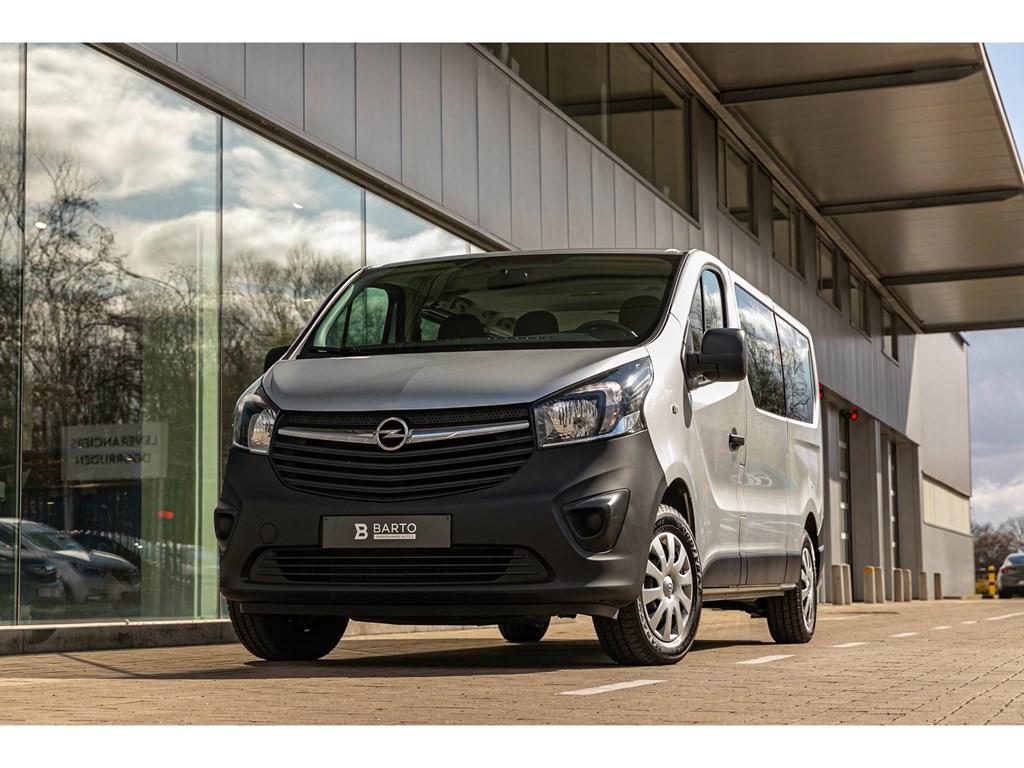 Tweedehands te koop: Opel Vivaro Zilver - 16dCombi L2H19plaatsenNaviAircoCruisectrl