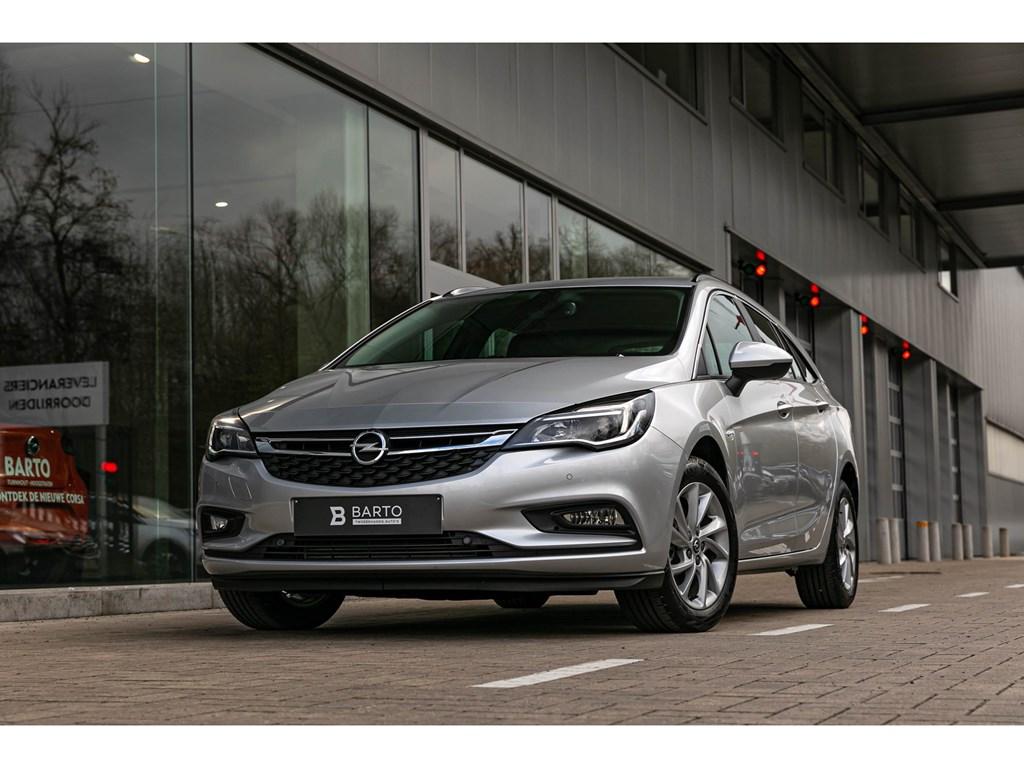 Opel-Astra-Zilver-110pk-Grote-navi-Ergonom-Zetels-NIEUW-