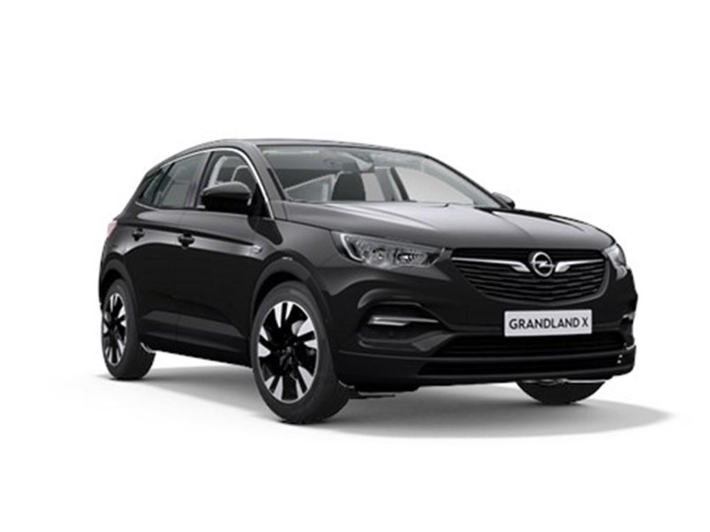 Tweedehands te koop: Opel Grandland X Zwart - Innovation 12 Turbo benz Automaat 8 StartStop - 130pk 96kw - Nieuw