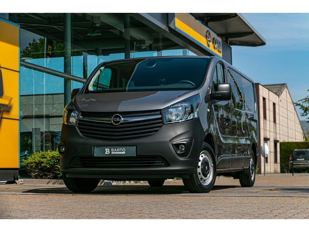 Tweedehands te koop: Opel Vivaro Grijs - Dubbele Cabine 5pl 16CDTi BiTurboCameraAircoParkeersens