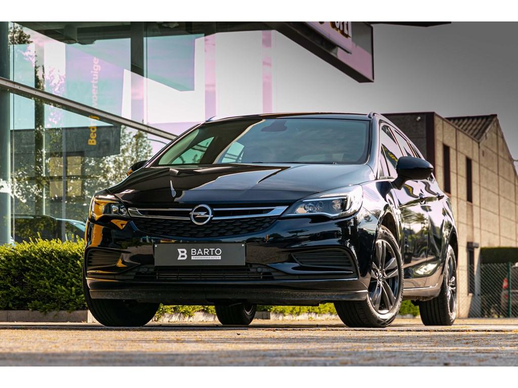 Tweedehands te koop: Opel Astra Blauw - 14 TurboNaviAircoParkeersens vaSlechts3987km