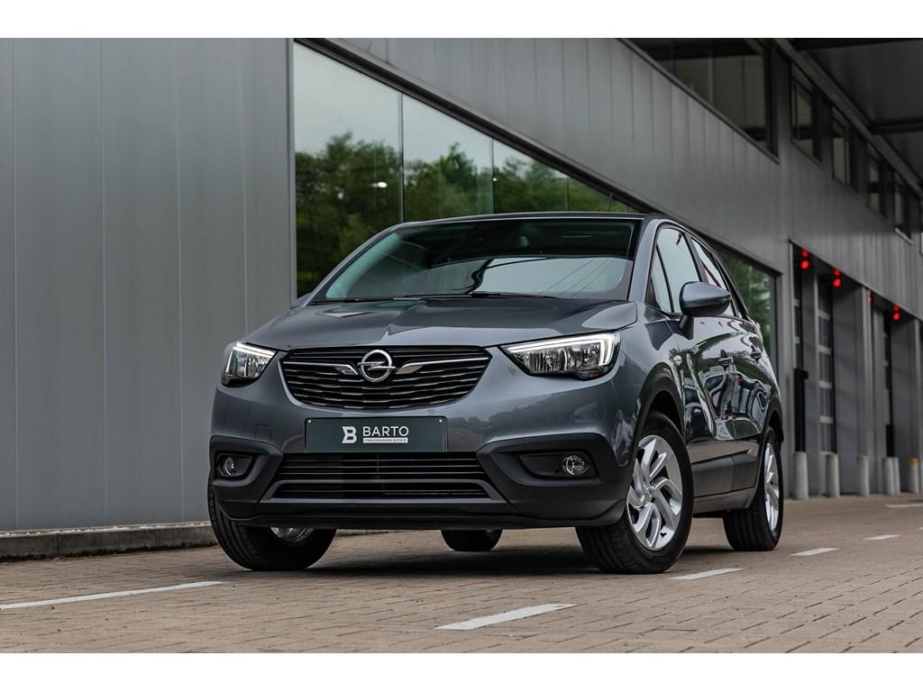 Tweedehands te koop: Opel Crossland X Grijs - 12 BenzNavigatieParkeersensalu velgen