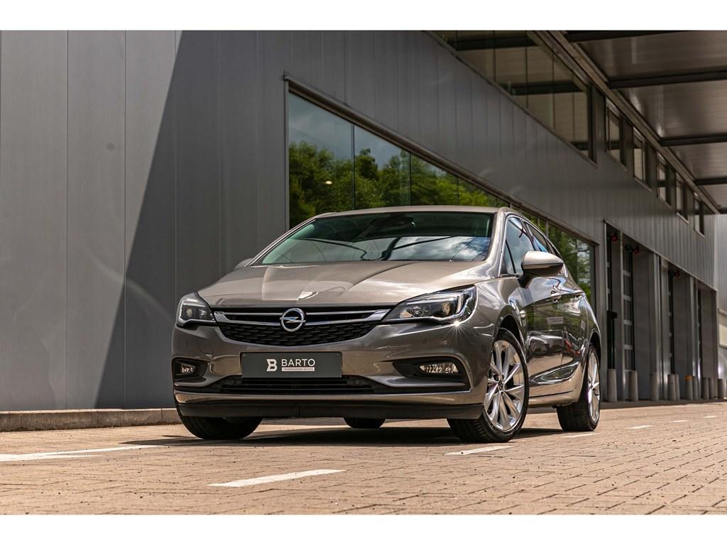 Opel-Astra-Grijs-16dInnovationCameraVerw-ZetelsStuurwielOfflaneDodehoeksens