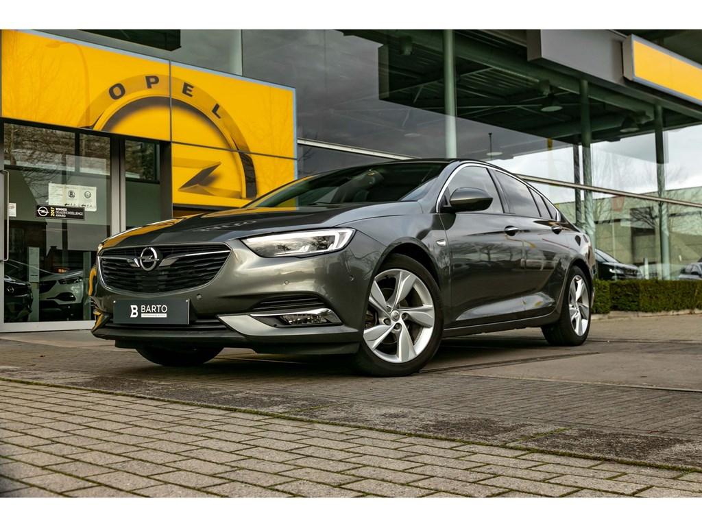 Tweedehands te koop: Opel Insignia Grijs - 15 Turbo 165pkLederLEDMatrixMassagefunctie360 CameraDigit dashboard
