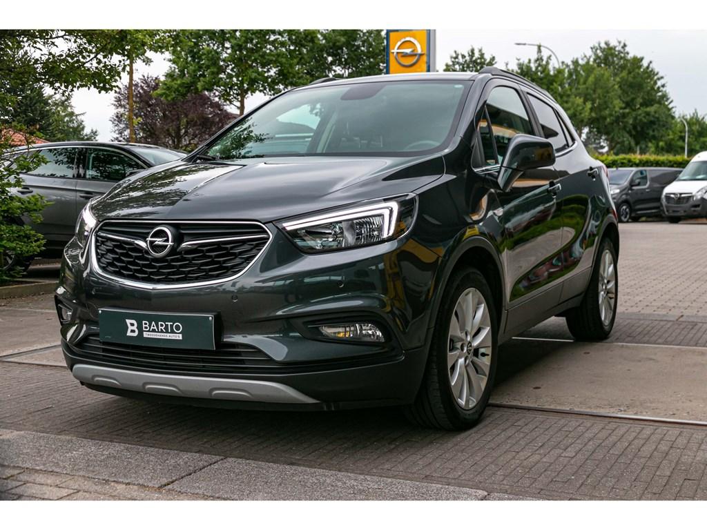 Tweedehands te koop: Opel Mokka X Grijs - 16 CDTIInnovationLederNaviVerw ZetelsStuurwielParkeersens