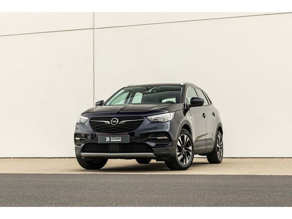 Tweedehands te koop: Opel Grandland X Purper - Turbo D 130pkInnovationCameraDodehoekElektr KofferAuto Airco