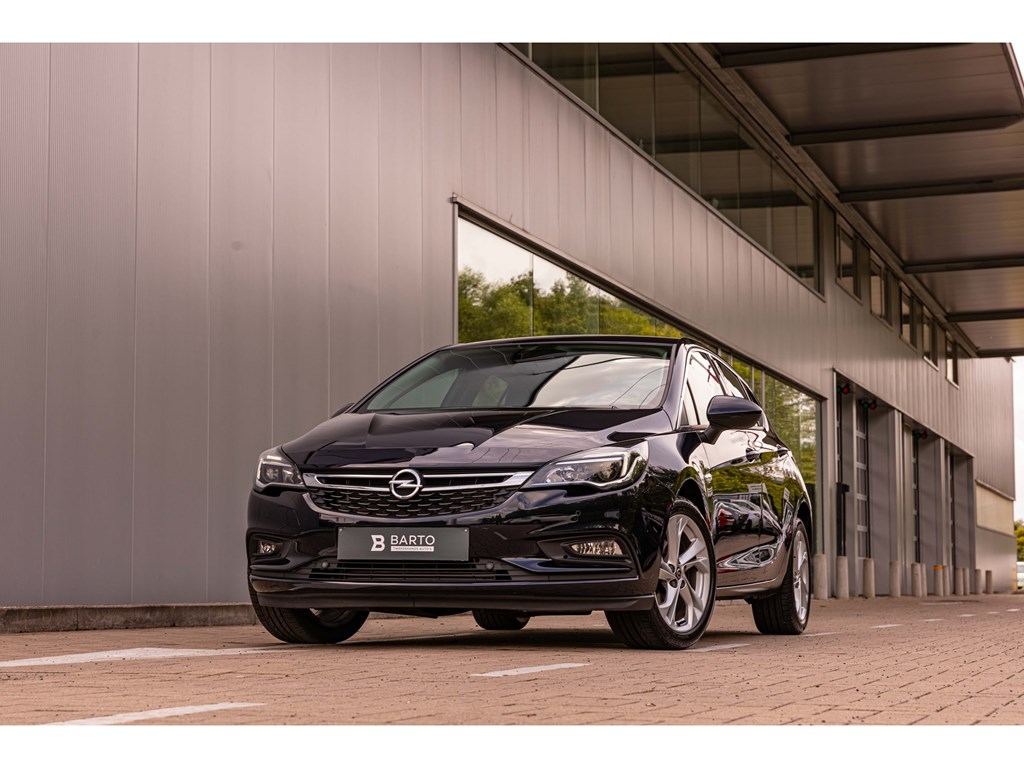 Tweedehands te koop: Opel Astra Blauw - 5-deurs 14 Turbo 150pk Innovation - Automaat OfflaneBotswrschParkeersens