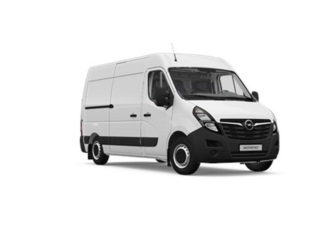 Tweedehands te koop: Opel Movano Wit - Gesloten Bestelwagen L2H2 - 23 Turbo D 135pk 99kw FWD 35MTM - Nieuw