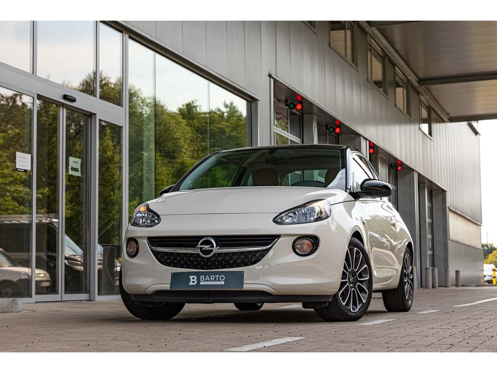 Tweedehands te koop: Opel ADAM Wit - 12 BenzUNLIMITEDAircoNaviParkeersensIntellilink
