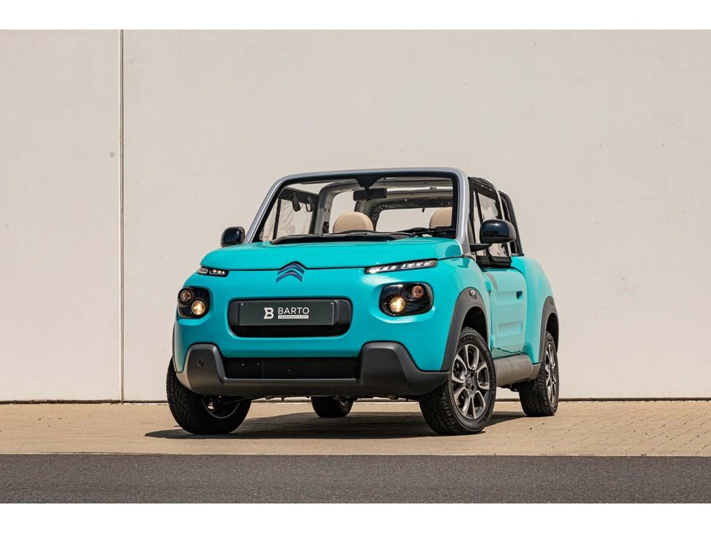 Tweedehands te koop: Citroen Mehari Grijs - E-Mehari - 100 Elektrisch - Directiewagen - Airco - WEINIG KMs